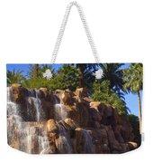 Cascading Rocky Waterfall Weekender Tote Bag
