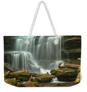 Cascading Through Ricketts Glen Weekender Tote Bag