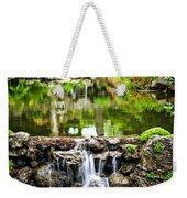 Cascading Waterfall And Pond Weekender Tote Bag by Elena Elisseeva