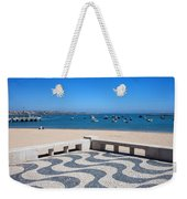 Cascais Promenade And Bay In Portugal Weekender Tote Bag