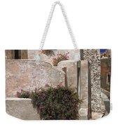 case a Santorini Weekender Tote Bag