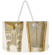 Case And Mummy In Its Cerements Weekender Tote Bag