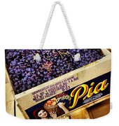 Case Of Sangiovese Grapes Weekender Tote Bag