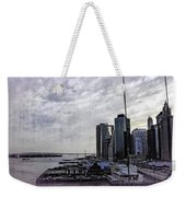 Case Of The Missing P Aka As Pier 17 Weekender Tote Bag