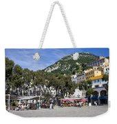 Casemates Square In Gibraltar Weekender Tote Bag