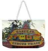 Casey Jr Circus Train Fantasyland Signage Disneyland Weekender Tote Bag