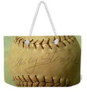 Casey Stengel Baseball Autograph Weekender Tote Bag