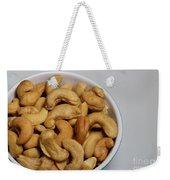 Cashews - Nuts - Snack Food Weekender Tote Bag