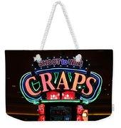 Casino Time Weekender Tote Bag