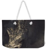 Casquets Lighthouse Weekender Tote Bag by Victor Hugo