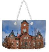 Cass County Courthouse Weekender Tote Bag