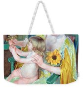 Cassatt's Mother And Child Weekender Tote Bag