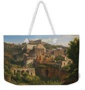 Castel Sant'elmo From Chiaia. Naples Weekender Tote Bag