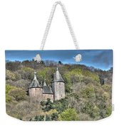 Castell Coch Cardiff Painterly Weekender Tote Bag