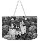 Castell Coch Mono Weekender Tote Bag