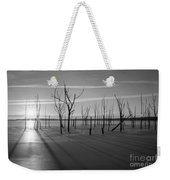 Casting Shadows Bw Weekender Tote Bag