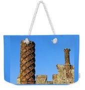 Castle Brickwork Weekender Tote Bag