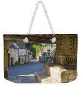 Castle Combe - View Weekender Tote Bag