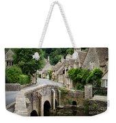 Castle Combe Cotswolds Village Weekender Tote Bag