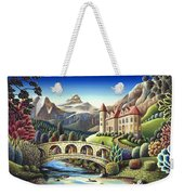 Castle Creek Weekender Tote Bag