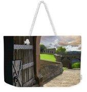 Castle Door Weekender Tote Bag