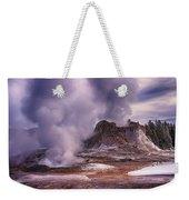 Castle Geyser Weekender Tote Bag