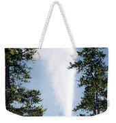 Castle Geyser Yellowstone Np Weekender Tote Bag