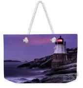 Castle Hill Lighthouse Weekender Tote Bag