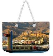 Castle In Almeria Spain Weekender Tote Bag