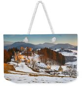 castle in northen Slovakia Weekender Tote Bag