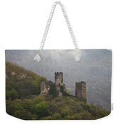 Castle In The Mountains. Weekender Tote Bag