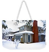 Castle In The Snow Weekender Tote Bag