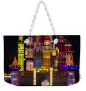Castle Lantern Weekender Tote Bag