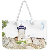 castle of the holy order - Sovinec castle Weekender Tote Bag