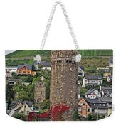 Castle Of The Rhine Weekender Tote Bag