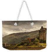 Castle On A Hill Kyle Of Lochalsh Weekender Tote Bag