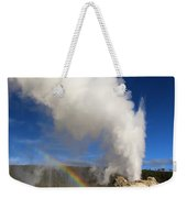 Castle Rainbow Weekender Tote Bag