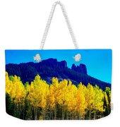 Autumn Castle Rock Aspens Weekender Tote Bag