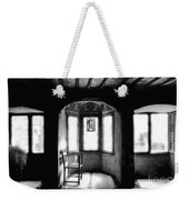 Castle Room With Chair Bw Weekender Tote Bag