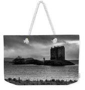 Castle Stalker Bw Weekender Tote Bag