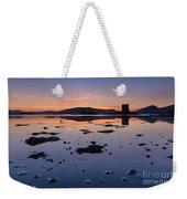 Loch Laich And Castle Stalker Weekender Tote Bag