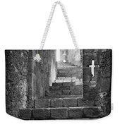 Castle Subterranean Staircase Weekender Tote Bag