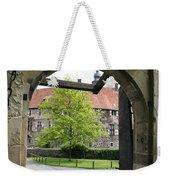 Castle Vischering Archway Weekender Tote Bag