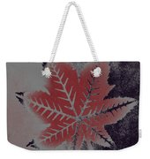 Castor Leaf Weekender Tote Bag