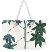 Castor Oil Plant Weekender Tote Bag