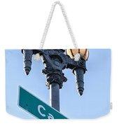 Castro Lightpole Weekender Tote Bag