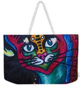 Cat 2 Weekender Tote Bag