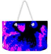 Cat Abstract Weekender Tote Bag