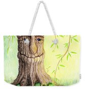 Cat And Great Mother Tree Weekender Tote Bag