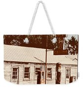 Cat Cabins And Gas Station Weekender Tote Bag
